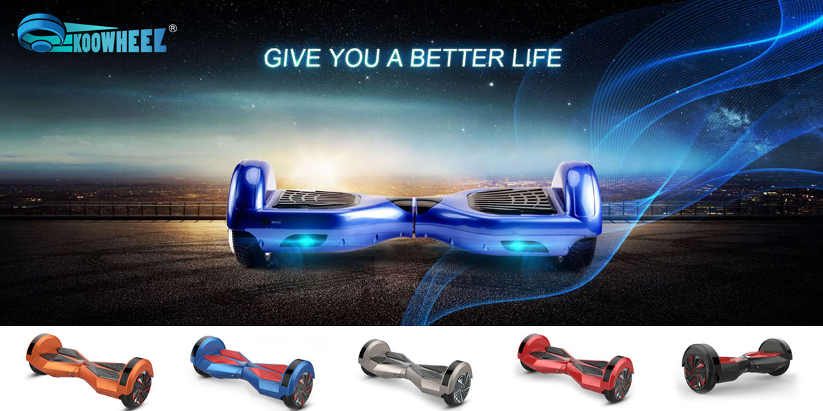 bluetooth Hoverboard E-scooter Koowheel