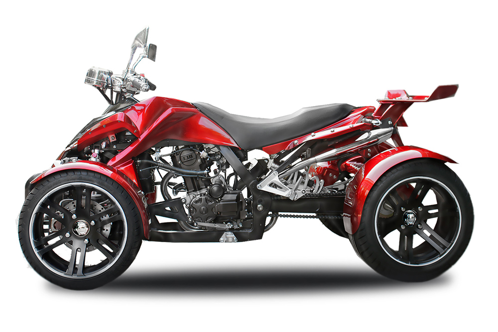spy quad red 250ccm
