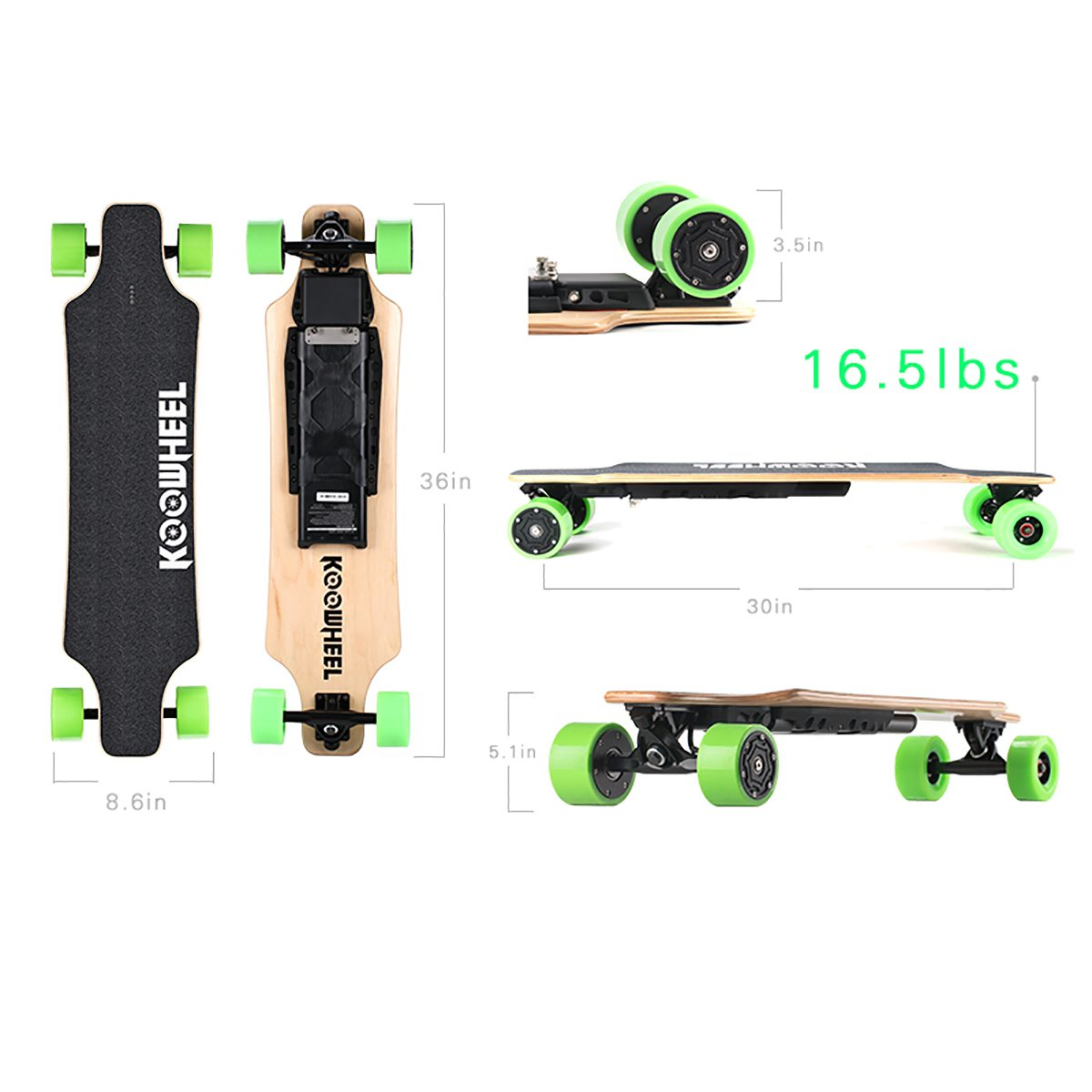 Koowheel D3M Bluetooth Skateboard