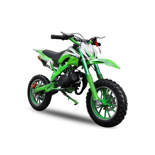 "günstig 49cc Apollo DC MIDI Dirtbike 10"" Crossbike Pocket  Minicross Motorcross 