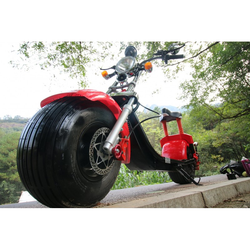 Angebot CityCoco 20AH Scooter E-Roller Harley Design 2018