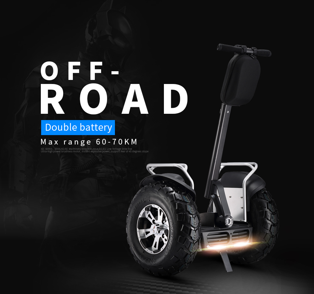 Segway Scooter off road